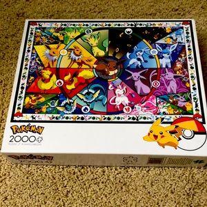 2000 piece Pokemon puzzle by Buffalo